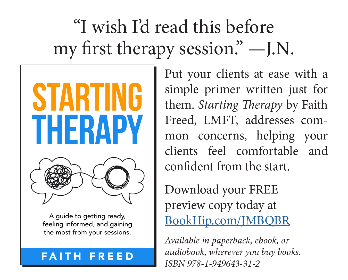 Starting Therapy