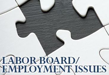 Labor Board/Employment Issues