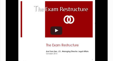 The Exam Restructure