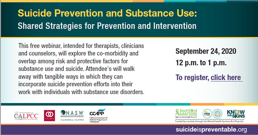 Suicide Prevention and Substance se